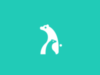 Mother and Child bear icon