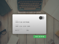 Credit Card Checkout – Daily UI 002