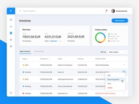 Invoices - dashboard