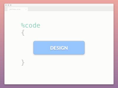 Design = Code = Design