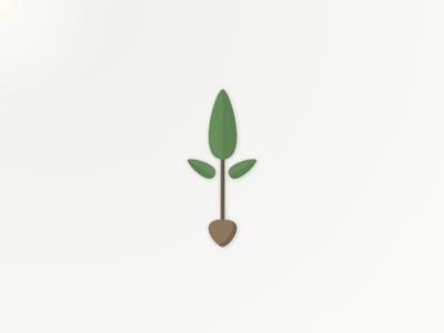 Sprout leaf sprout logo seed mean
