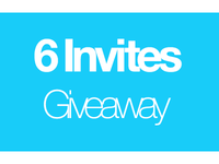 Giving Away 6 Invites