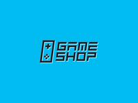 gameshop logotype design