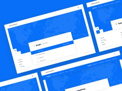 navigation & search ui/ux design