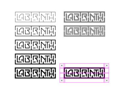 labirinth logotype design