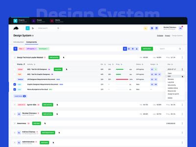 bizon360 design system light