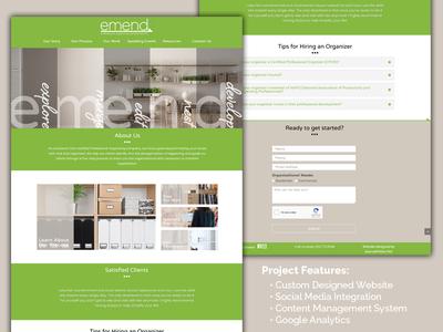 Emend Website
