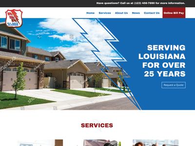 Allsafe Alarms Website WIP