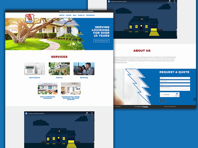 Allsafe Alarms Website