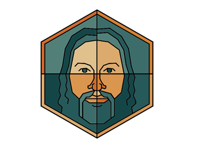 """Hanging Strength"" Conceptual Logo illustration identity branding"