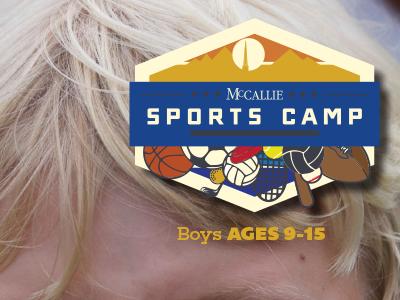 Sports Camp Logo illustration identity branding