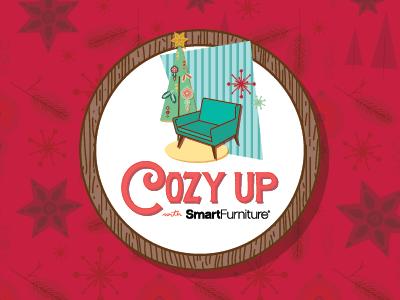 Cozy On Up branding illustration