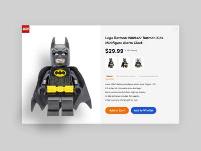 E-commerce Product Detail Page Design Ideas