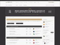 Interstellar webdesign
