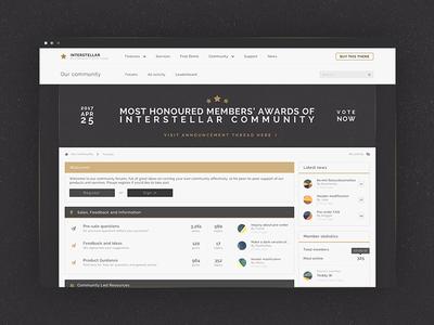 IPS Forum web interface