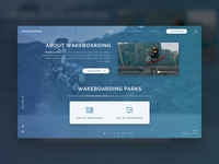Wakeboarding web interface