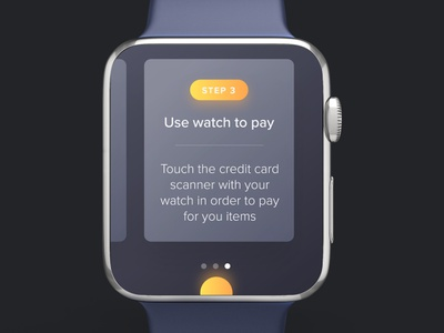 Interactive Apple Watch App adobe xd interactions microinterancions user interface animated animation interaction ui apple wath iwatch