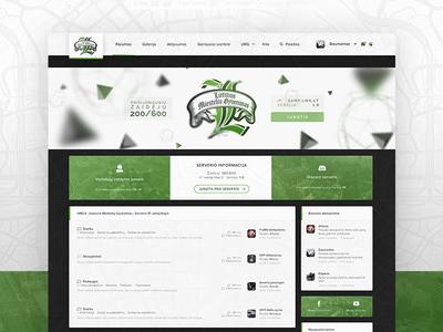 Community forums redesign ux ux design forum ipb forums gaming ui ui design web design ips