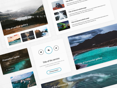 Explord – FREE UI Kit for Adobe XD social network social media ux design ui design blogging blog adobe xd ui kit free