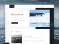 Blog posts lists full 2x