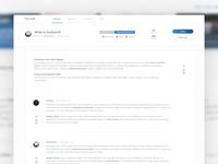 Community platform for designers