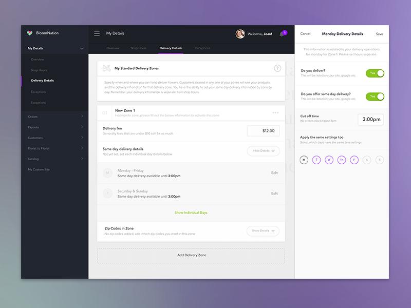 Small Business Dashboard Redesign  dashboard