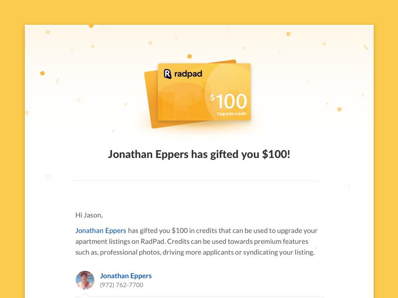 Email Header  credit header email