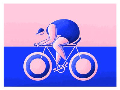 Olympics: Biking cap woman textures stripes sports olympics olympian biking bike highlights character athlete