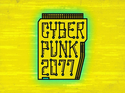 Cyberpunk 2077 ram computer chip memory computer art computer graphics rpg videogames yellow computer emblem badge drawing graphic design icon illustration flat design logo video game cyberpunk 2077 cyberpunk