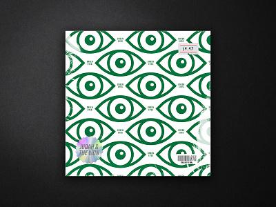 Green Eyes grit lion musician music player pattern icons green eyes minimal music art album art music typography badge drawing logo flat design illustration icon