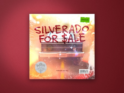Silverado for $ale layers layering photoshop music art textures texture marker typography graphic design badge logo flat design illustration icon album cover album art music country music country morgan wallen