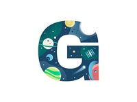 G – Galaxy | 36 Days of Type