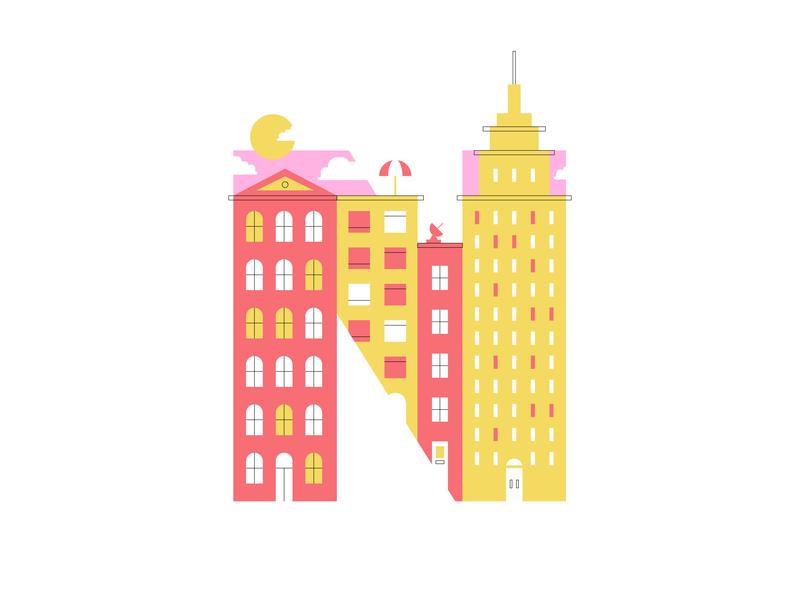 N – New York City