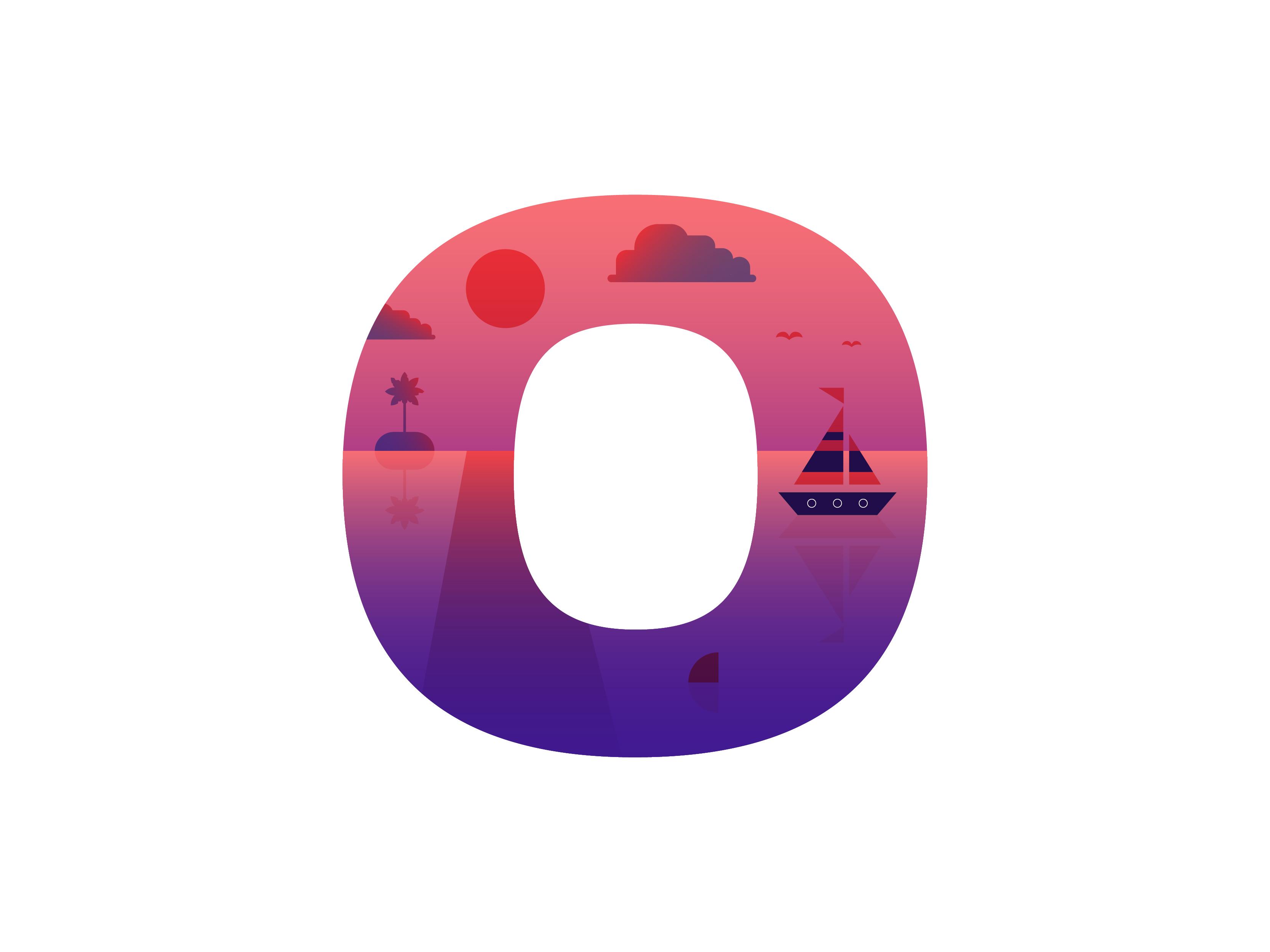O ocean dribbble