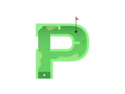 P – Putt-Putt | 36 Days of Type
