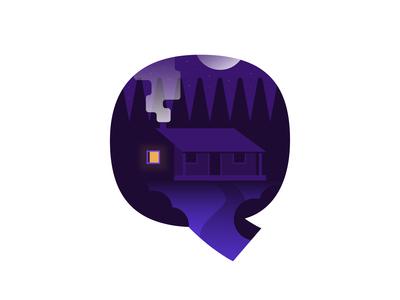 Q – Quiet Place | 36 Days of Type