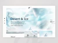 Desert & ice