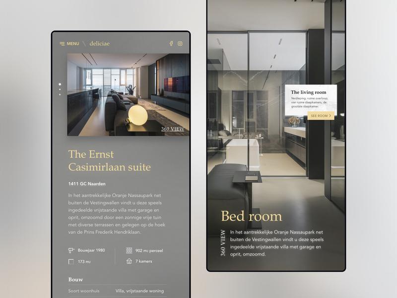Real estate app by martijn keesmaat dribbble dribbble