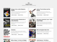Designers.Watch (2.0) - Documentaries for Designers. web design documentary documentaries web design ui javin ladish