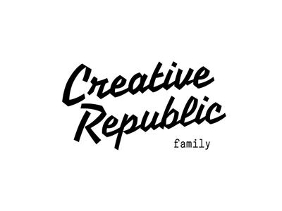 Creative Republic brand identity cowork republic creative workspace