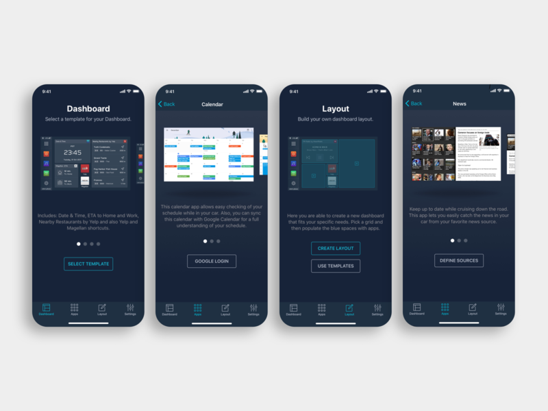 Clarion Starlink App by João Amaro Costa for Mokriya on Dribbble