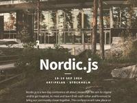 Nordicjs full