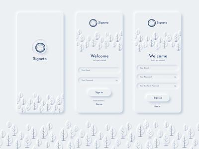 Signeto UI / UX Design icon vector ux uiux ui design ui logo design app design app