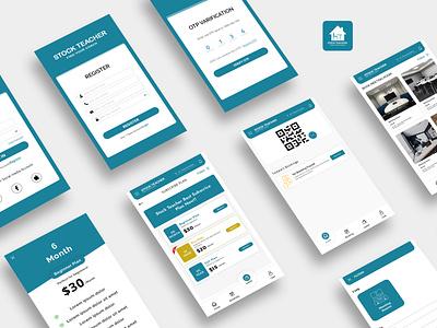 Stock Teacher Meeting Room UI / UX Design icon vector ux uiux ui design ui logo design app design app