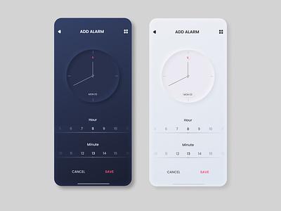 Add Alarm UI / UX Design illustration icon vector ux uiux ui design ui logo design app design app
