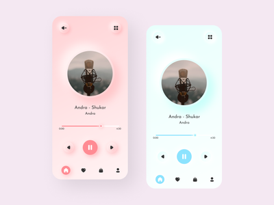 Pink Blue theme icon ux vector uiux ui design ui logo design app design app