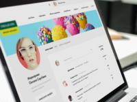 intranet profile page