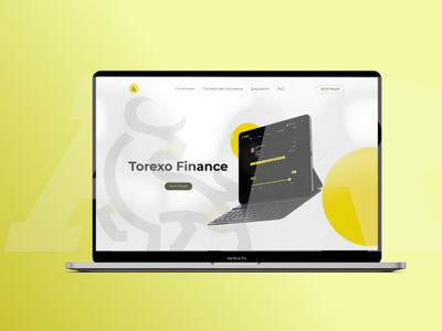 Torexo.company invest branding logo ux ui figma web design