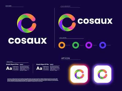 C letter modern logo branding concept mark letter logo colorful c letter logo c logo designs illustration gradient logo graphic design minimal branding design n o p q r s t u v w x y z a b c d e f g h i j k l m