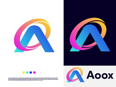 A letter modern logo design - a abstract logo logotype lettermark a letter logo a modern logo a logo logodesigner symbol logo designs modern colorful gradient logo branding design n o p q r s t u v w x y z a b c d e f g h i j k l m abstract